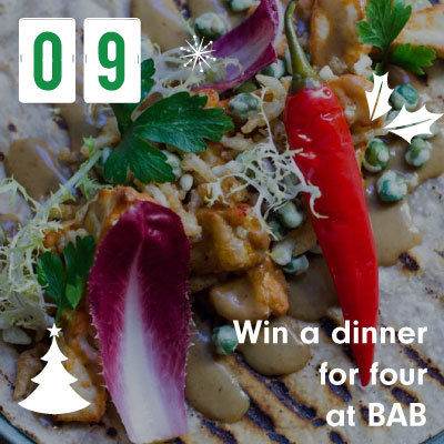Win a dinner for four at BAB