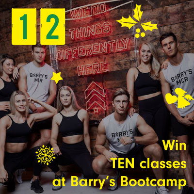 Win TEN classes at Barry's Bootcamp