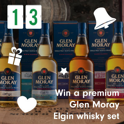 Win a premium Glen Moray Elgin whisky set