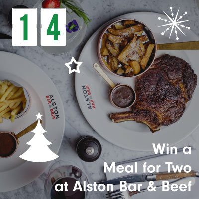 Win a Meal for Two at Alston Bar & Beef