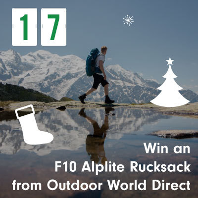 Win an F10 Alplite Rucksack from Outdoor World Direct