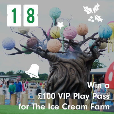 Win a £100 VIP Play Pass for The Ice Cream Farm