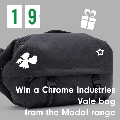 Win a Chrome Industries Vale bag from the Modal range