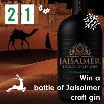 Win a bottle of Jaisalmer craft gin
