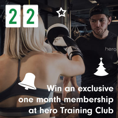 Win an exclusive one month membership at hero Training Club