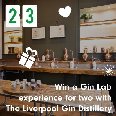Win a Gin Lab experience for two with The Liverpool Gin Distillery