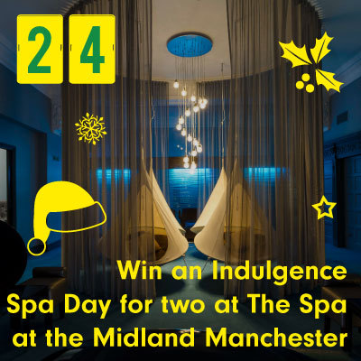 Win an Indulgence Spa Day for two at the spa at the Midland Manchester