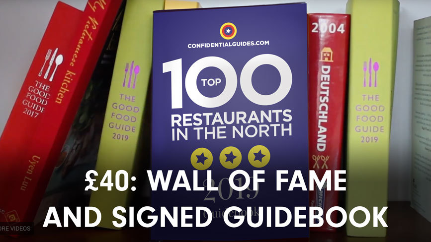 £40: Digital wall of fame and signed copy of the guidebook