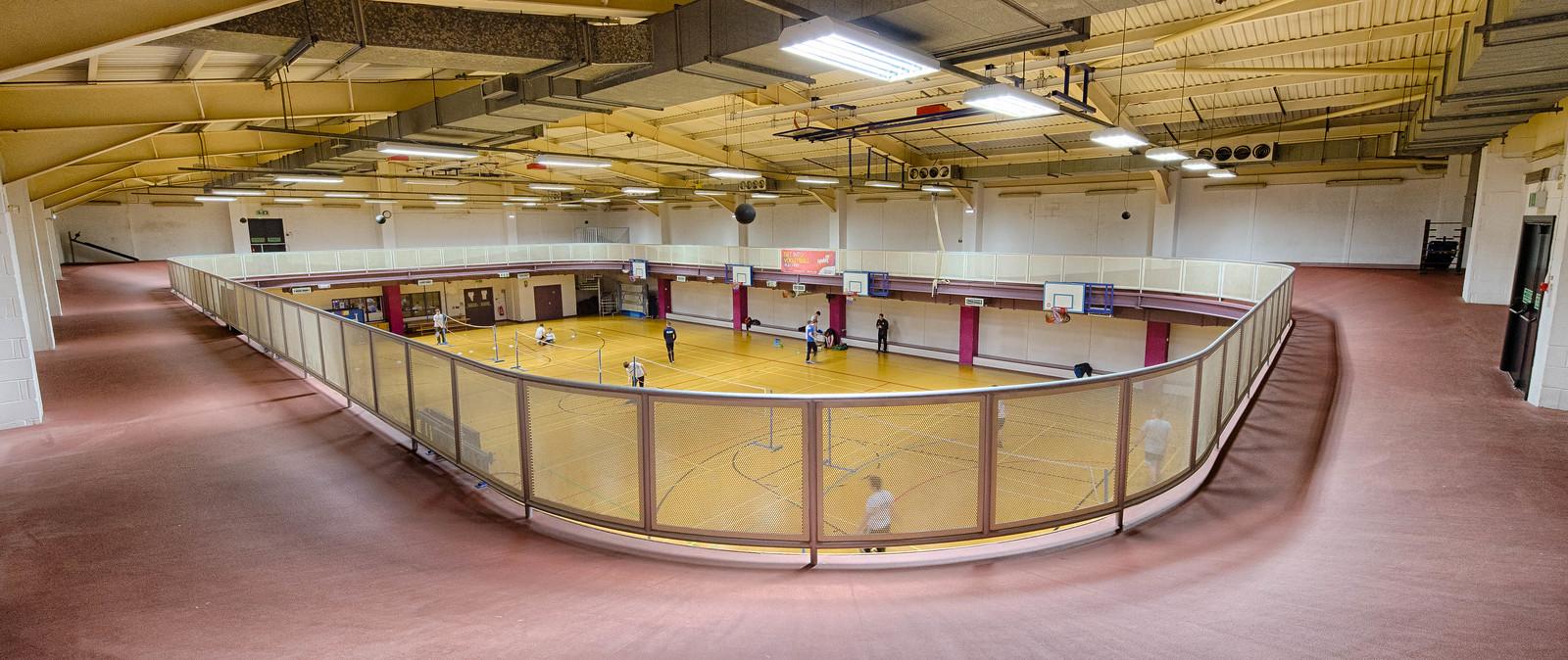 20170504 Yclub Sports Hall Running Track