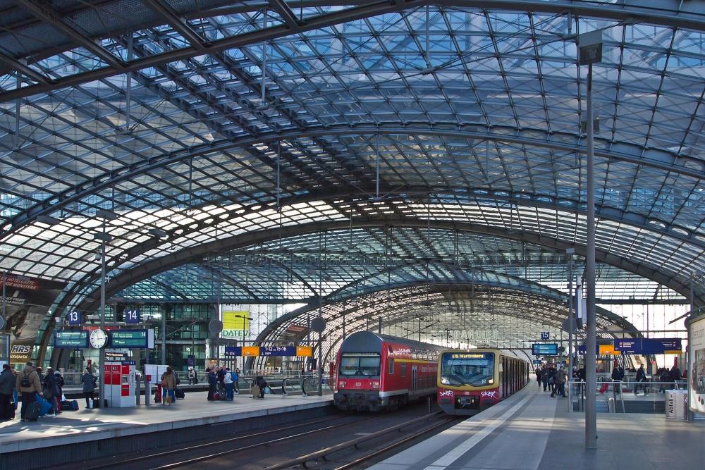 Berlin 170719 Berlin Hauptbahnhof