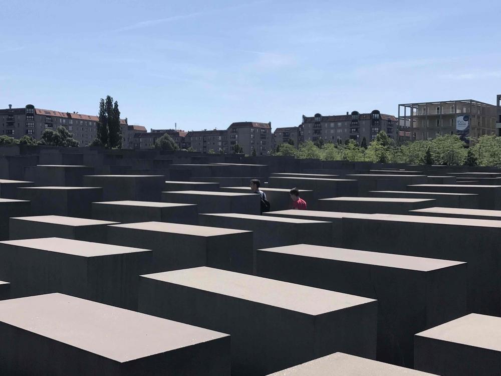 Berlin 170719 Holocaust Memorial