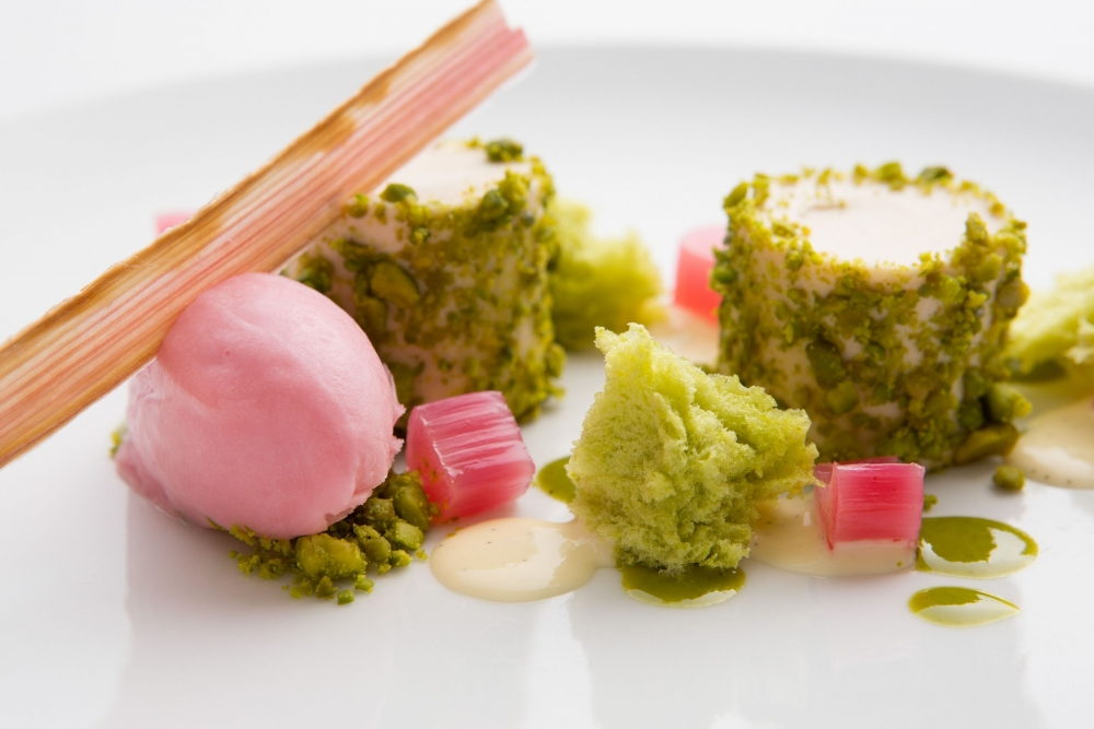 170420 Rhubarb Custard Mousse