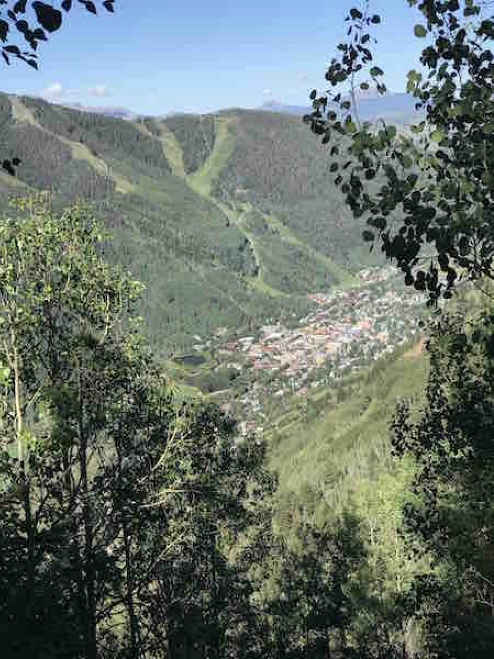 170824 Looking Down On Telluride